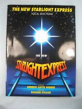 The New Starlight Express Vocal Selections Sheet Music Anthology 1993 Webber (O)