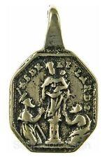 NUESTRA SENORA DEL PILAR / ST. BARBARA Medal, bronze, cast from antique original