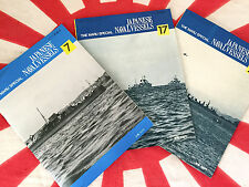 IJN SPECIAL TYPE FUBUKI DESTROYERS Japanese Navy MARU SPECIAL 3 Vol Set 7 17 21