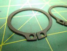 METRIC EXTERNAL RETAINING RING SHAFT DIA 34MM BLACK QTY 11   #60950