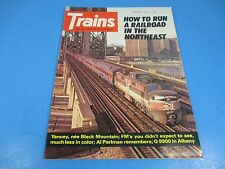 Trains, The Magazine of Railroading August 1974 How to Run Railroad in Northeast