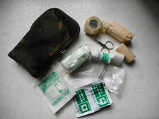 original UK WEBTEX WEB TEX IFAK INDIVIDUAL FIRST AID KIT & WEBBING dpm POUCH