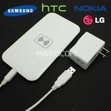 New Qi Wireless Charger Charging Samsung Galaxy Motorola Lumia HTC LG Nexus