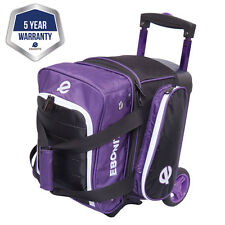 Ebonite Eclipse Black/Purple 1 Ball Roller Bowling Bag