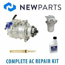 Audi S8 2007-2009 Complete AC A/C Repair Kit With NEW Compressor & Clutch
