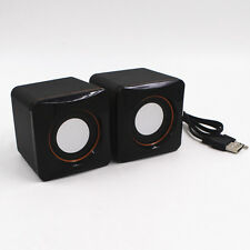 1Pairs Portable USB Speakers Music Box For PC Computer Laptop Notebook
