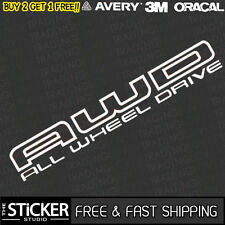 AWD All Wheel Drive Subaru Logo JDM DRIFT Sticker Vinyl Impreza WRX STI