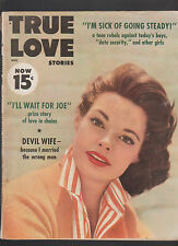 True Love Stories November 1957 Devil Wife I'm Sick of Going Steady