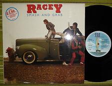 RACEY, SMASH AND GRAB, LP 1979 UK A2/B1 NM/EX RAK SPAK 537 LAMINATED/SL