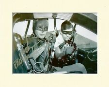ADAM WEST BATMAN BRUCE WAYNE B&W PP 8x10 MOUNTED SIGNED AUTOGRAPH PHOTO