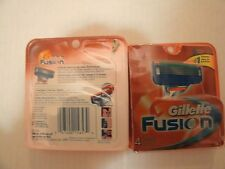Brand New Gillette Fusion  Men's Razor Blade Refills 4 Count 5 Blade Shaving