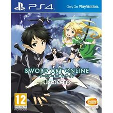 Sword Art Online Lost Song PS4 Game Brand New