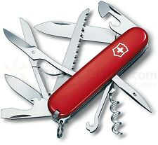 Victorinox Swiss Army Knife, Huntsman, Red 53201, 16 Function Pocket Knife  NEW