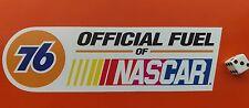 """Union 76 oficial de combustible de NASCAR Adhesivo Calcomanía 8"""" X 2.5"""" Hot Rod Racing"""