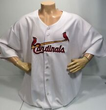 NEW St Louis Cardinals Home White Jersey Mens Size 5X