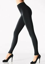 Wolford Velvet Sensation Leggings, 150 Denier Fleece Lined Leggings Black M