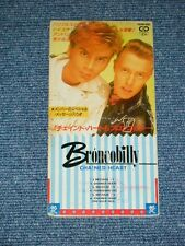 "BRONCOBILLY Japan 1990 Tall 3"" inch CD Single  CHAINED HEART Eurobeat ITALO"