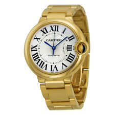 Cartier Ballon Bleu Medium 18k Yellow Gold Watch W69003Z2