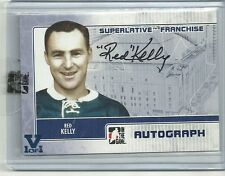 ITG Superlative Vault Red Kelly Franchise Auto Autograph Card 1 of 1