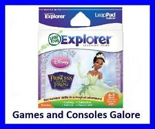 NEW RARE! Leap Pad / Leapster Explorer LeapPad Game Princess and & the Frog