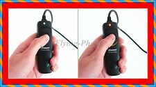 NEW Remote Shutter Cord WITH LIGHT Up LED indicazioni RS-60E3 4 Fotocamera Canon