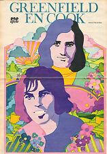 POSTER GREENFIELD & COOK (1972/ TEKENING PETER DE SMET)