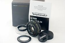 Voigtlander ULTRON 40mm F2 SLII N Aspherical for Nikon Ai-s Near Mint!