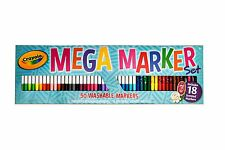 Crayola Mega Marker Set - 50 washable markers pack