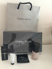 Giorgio Armani Crema Nuda 4.5 Universal Glow Foundation Gift Set Lot of 6 Nera