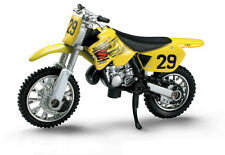NewRay NEW Mx Suzuki RM 125 1:32 Motocross Motorbike Figurine Kids Bike Toy