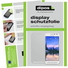 2x Samsung Galaxy S6 Active Schutzfolie Display Folie S 6 ACTIVE matt dipos