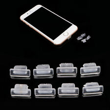 100pcs Charger Earphone Silicone Dock Anti Dust Plug Cap Stopper For iPhone 6 5S