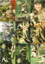 The Crocodile Hunter Full 72 Card Base Set of Trading Cards from Dart Flipcards