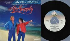"AIR SUPPLY-Making Love Out Of Nothing At All Japan 7""single"