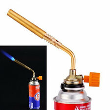 Gas Torch Butane Burner Lighter Flamethrower BBQ Camping Soldering Tool