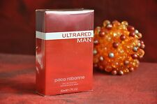 PACO RABANNE ULTRARED MAN EDT 50ml., DISCONTINUED, RARE, NEW IN BOX SEALED