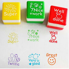 1pcs Inking Self Stamper Reward Stamps Praise Motivation Sticker Teachers School