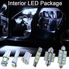 8X White LED Bulbs Interior Lights Package KIT for 2007 2008-2011 Toyota Camry