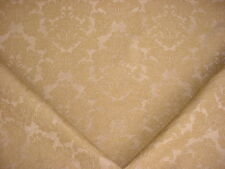 13Y SCHUMACHER PROVINCIAL FLORAL LINEN BOUCLE DAMASK UPHOLSTERY FABRIC