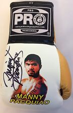 Manny Pacman Pacquiao Signed Boxing Glove Autographed PSA/DNA COA Pro Face 603