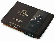 Godiva Chocolatier 27 Piece Dark Chocolate Assorted Gift Box, 10.6 Ounce
