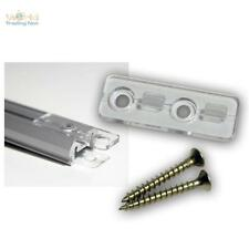 2x Montage-Clip Halteclip für Aluminium Profile (nicht für alle, siehe Beschr.)
