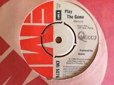 QUEEN 1980 vinyl 45rpm single PLAY THE GAME