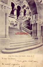 PRE-1907 GRAND STAIR-CASE STATE CAPITOL ALBANY, NY 1906