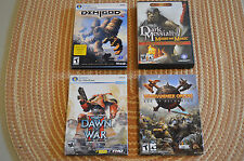 PC Game Lot - Warhammer Online, Dawn of War II, Dark Messiah, Demigod