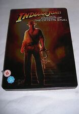 Indiana Jones And Kingdom Of The Crystal Skull - 2 Disc Steelbook Edition DVD &