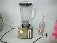 Vintage Mid Century Waring Custom 1209 Fourteen Speed Blender Clover Leaf