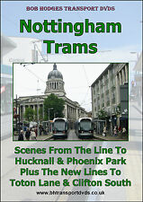 Nottingham Trams including scenes from the new lines to Toton Lane & Clifton Sth