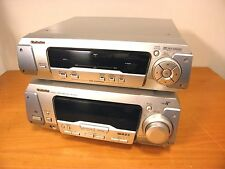 TECHNICS Stereo Tuner Amplifier SA-EH670 + Stereo Sound Processor SH-EH670.