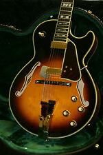 2014 Ibanez Japan GB10 George Benson Hollowbody Electric Guitar w/CASE Unplayed!